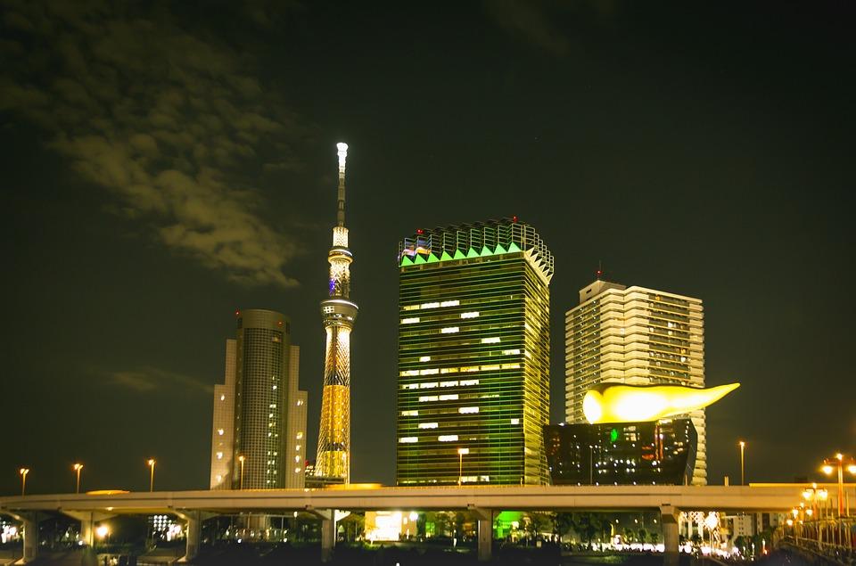 東京スカイツリー, 東京観光, 観光, 建物, スカイツリー, 東京, 日本, 都市, タワー, 旅行