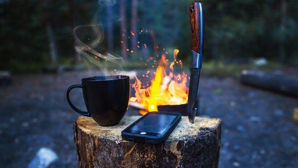 Smartphone, À L'Extérieur, Appareil, Téléphone