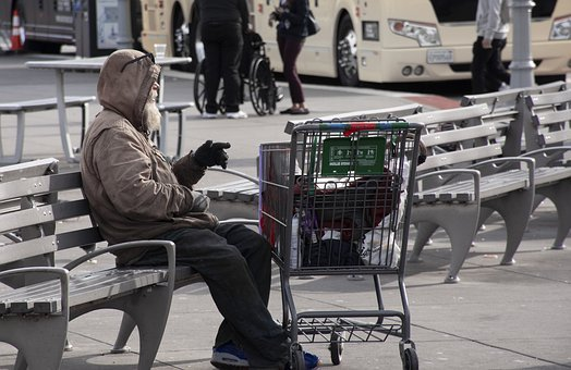 People, Homeless, Usa, Poverty