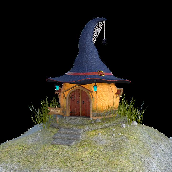 Maison De Sorciere Halloween Image Gratuite Sur Pixabay