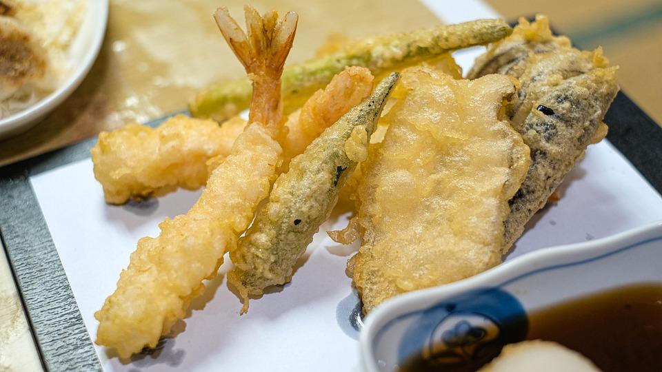野菜の揚げ, 食品, 海老の天ぷら, 海老フライ