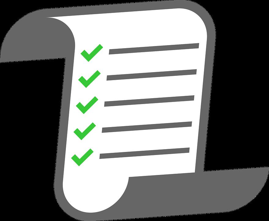 Lista De Comprobación Papel - Gráficos vectoriales gratis en Pixabay
