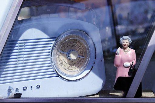 Oldtimer, Radio, Retro, Queen Elizabeth