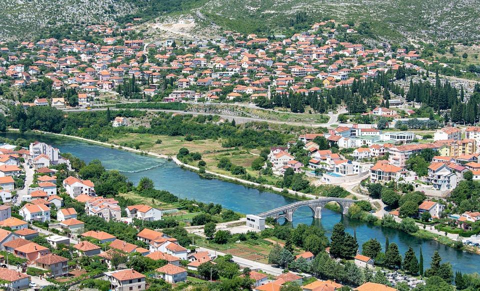 Sarajevo, Stadt, Panorama