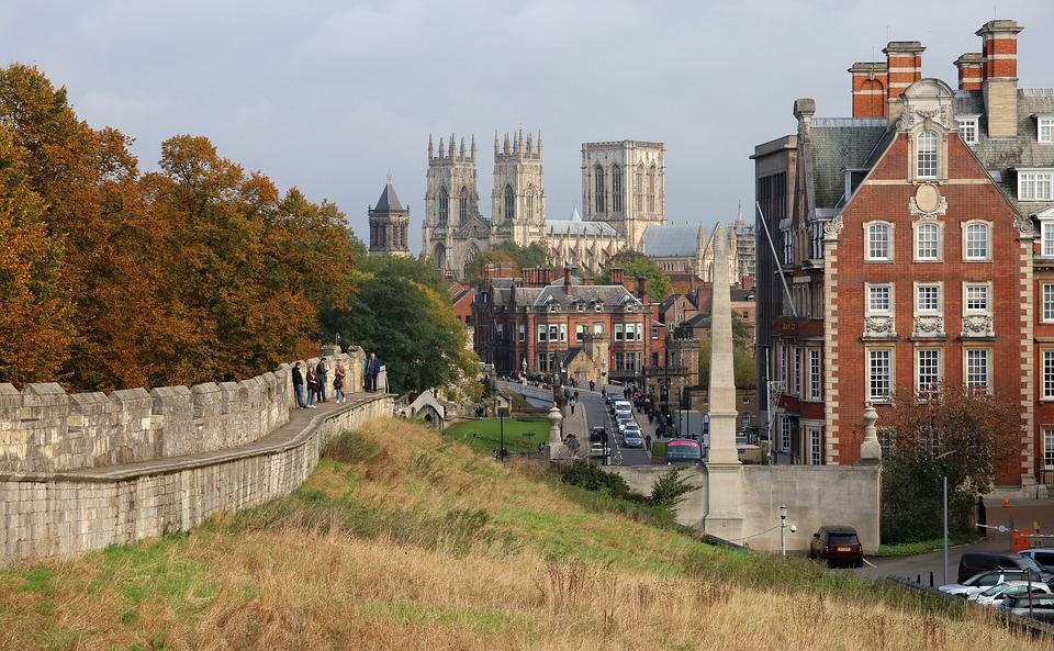 York, England, City, Architecture, Cathedral, Building