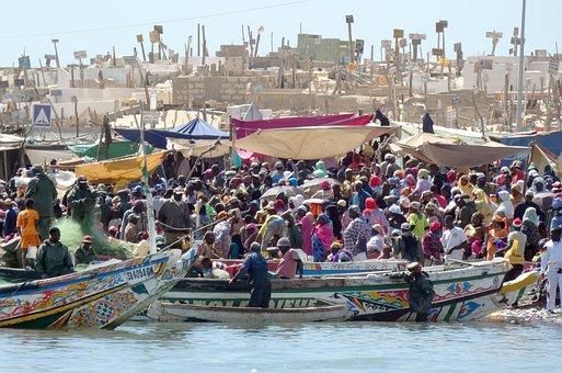 Senegal: Saint Louis Market