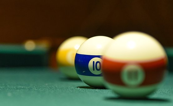 Ball, Pool Table, Sports, Play, Games