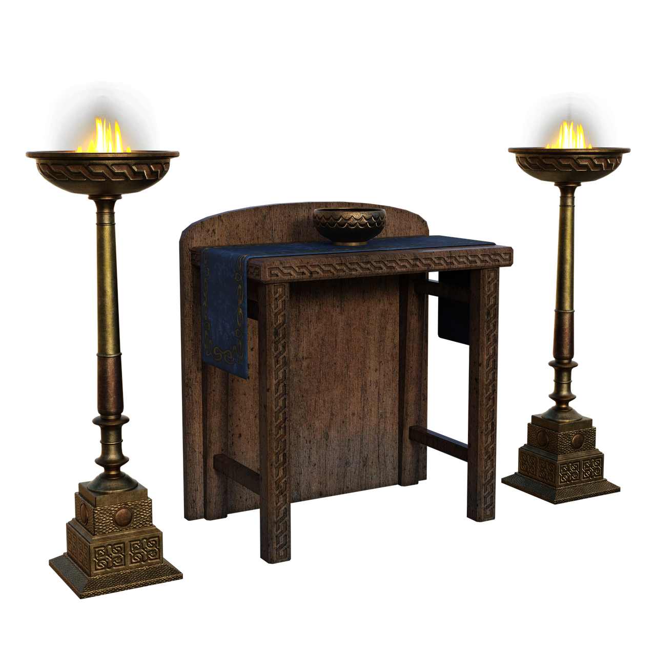 Alter Table Fire - Free image on Pixabay