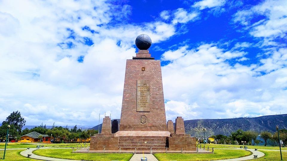 La Moitié Du Monde, Monument, Quito, Équateur