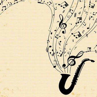 Nota De Música De Papel