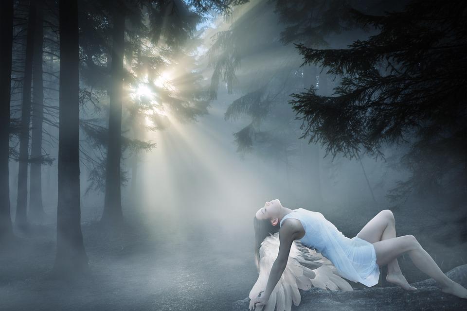 幻想的なイメージ,天使のイメージ