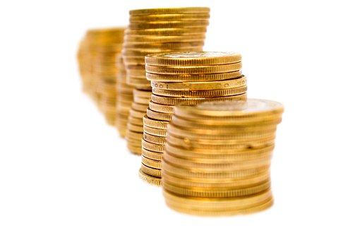 Money, Finance, Saving, Coins