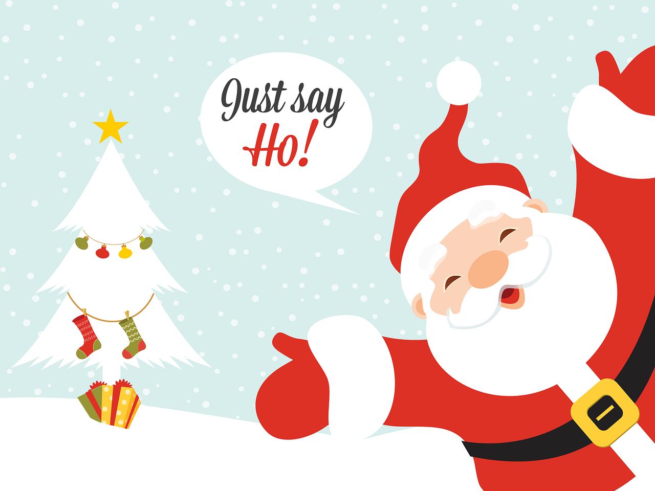 Kartu Kartun Natal Pohon Gambar Vektor Gratis Di Pixabay