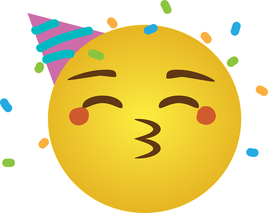 Feier Emoji Emoji-Party - Kostenlose Vektorgrafik auf Pixabay