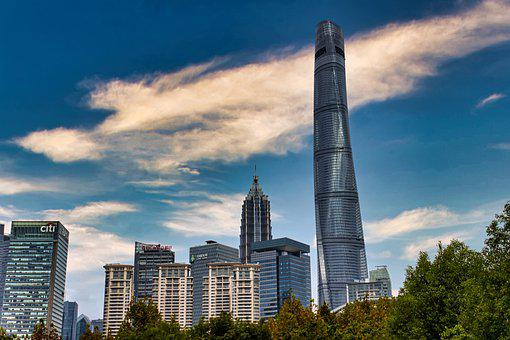 Skyline, Skyscraper, Building