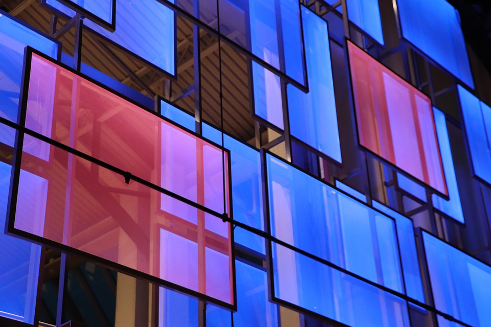 Window, Squares, Colors, Architecture, Color, Model
