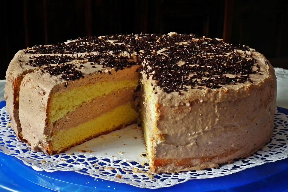 Торт, Очень Вкусно, Шоколад, День Рождения, Сладкий