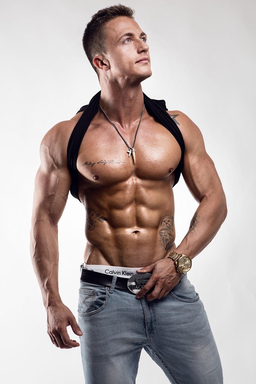 Картинки мужских фитнес моделей