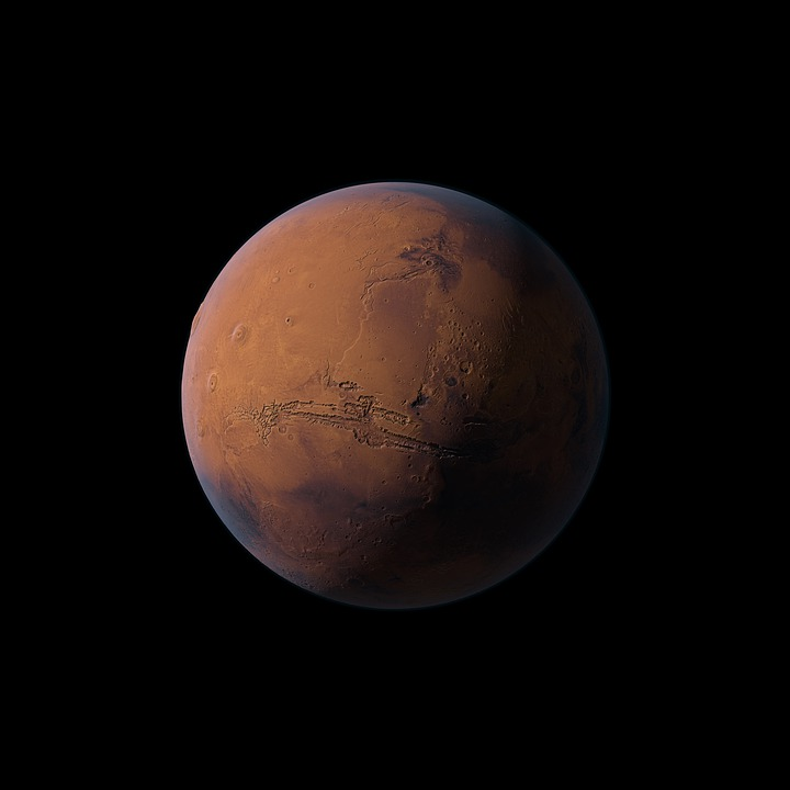 Mars Planet Red - Free image on Pixabay