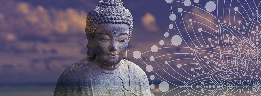 仏, 禅, リラクゼーション, 瞑想, ヨガ, 仏教, セレニティ, 残り