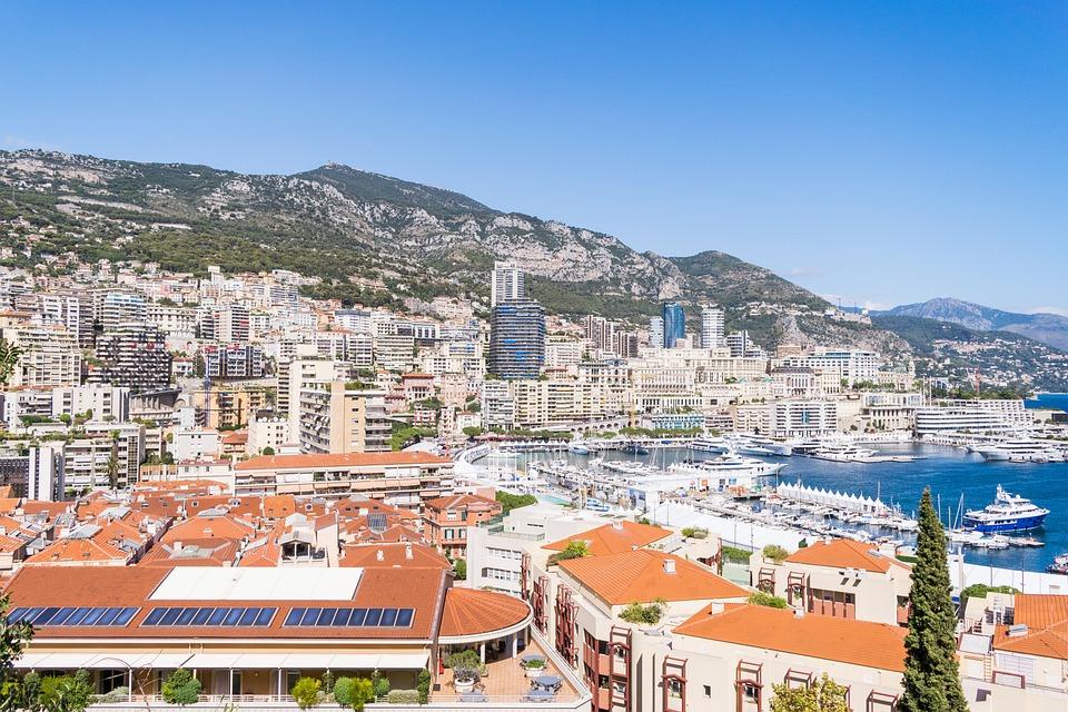 Hafen, Monaco, Stadt
