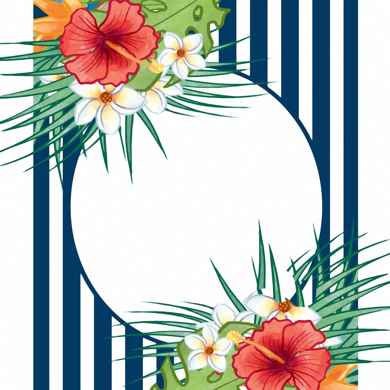 Tropical Floral Background Flower Free Image On Pixabay
