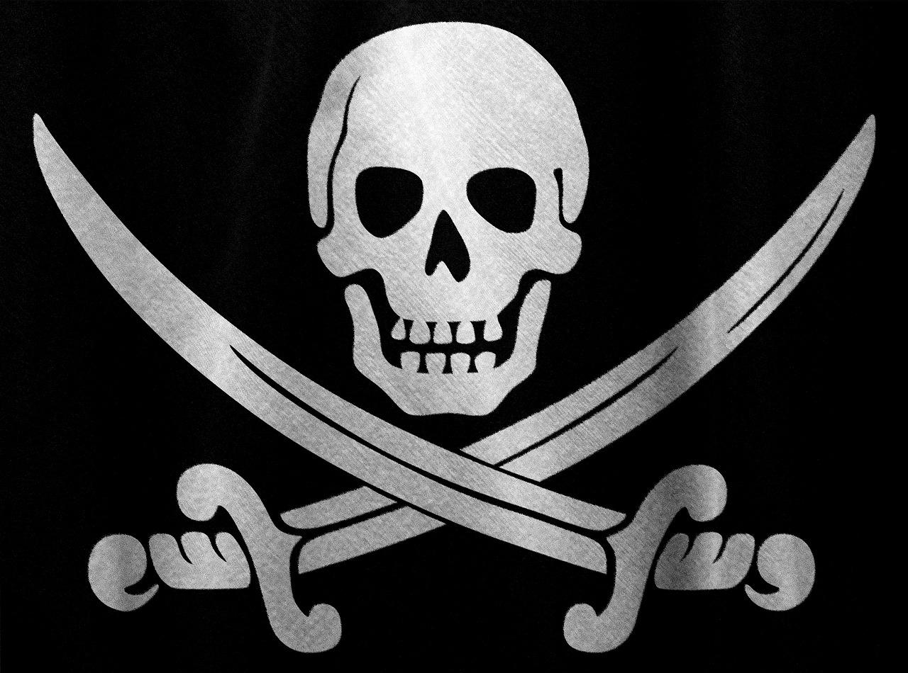 картинка черепа на пиратском флаге да, условия курортные