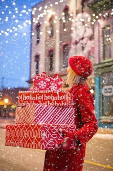 Christmas, Presents, Gifts, Carrying