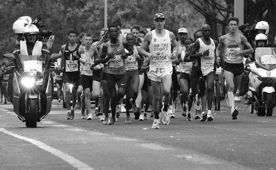 Marathon, Competition, Sport, Endurance