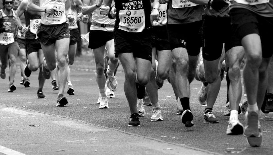 Maratona, Concorrência, Desporto, Resistência, Executar