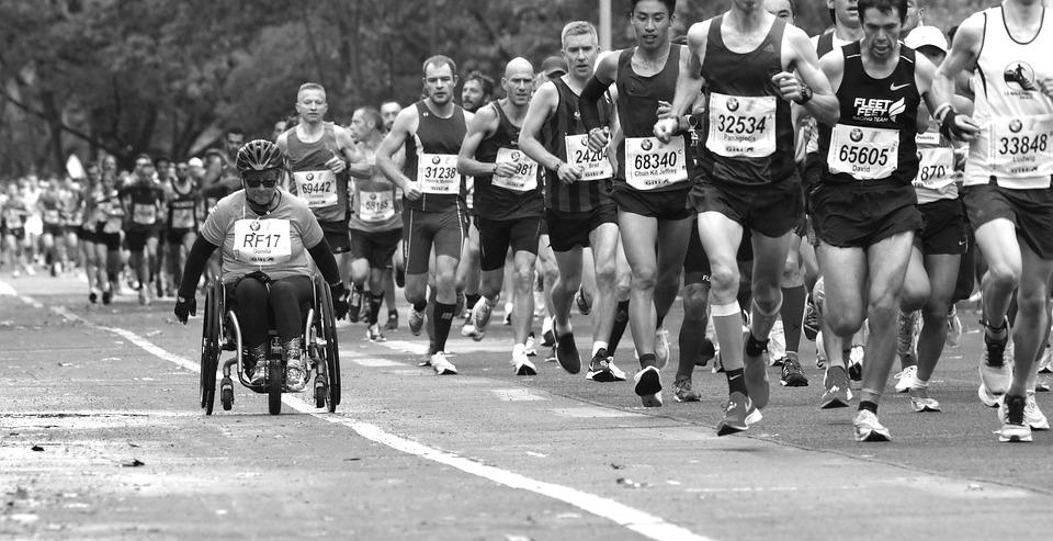 Maratón, Competencia, Deporte, Resistencia, Ejecutar