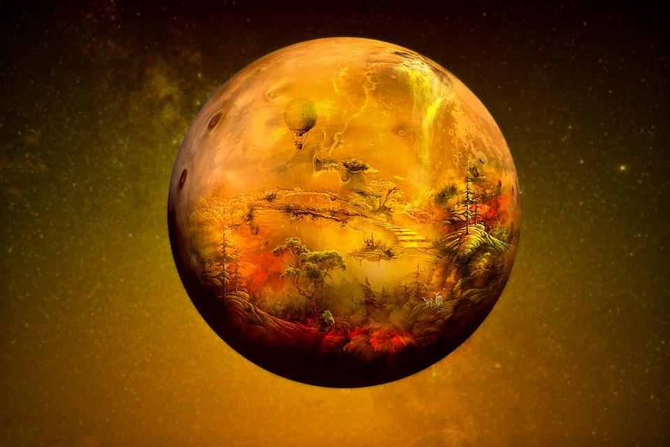 Fantasía, Venus, Planeta, La Naturaleza, Otro Mundo