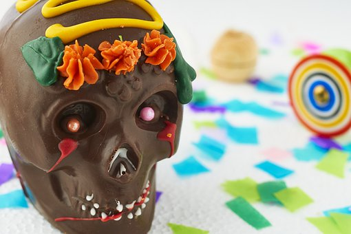 Chocolate, Day Of The Dead, Skull,124 Free images of Chocolate Day Related Images: Chocolate Love Heart  Valentine's Day  Candy  Hot Chocolate  Romantic  Romance  Valentine  Sweet
