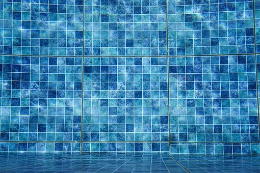 Swimming Pool, Pool, Tiles, Blue, Water