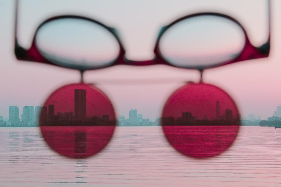 Sunglass, Sunset, Lake, Ha Noi, Water