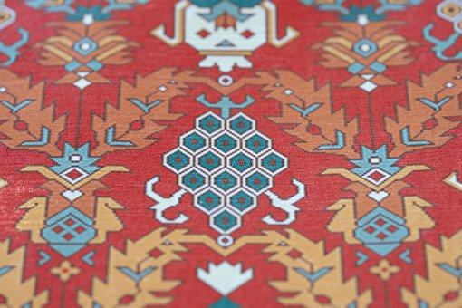 Carpet, Texture, Red, Model, Color
