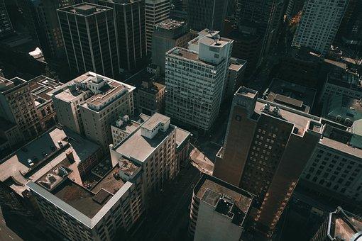 Buildings, City, Skyscrapers, Vancouver
