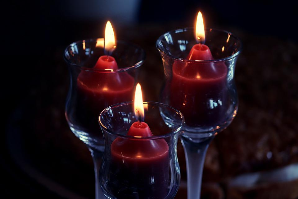 Votive Candles, Candles, Melt, Celebration, Solemnly