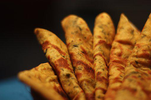 Bread, Tasty, Yellow, Food, Asian