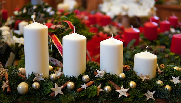 Advent, Candles, Candlelight, Decoration