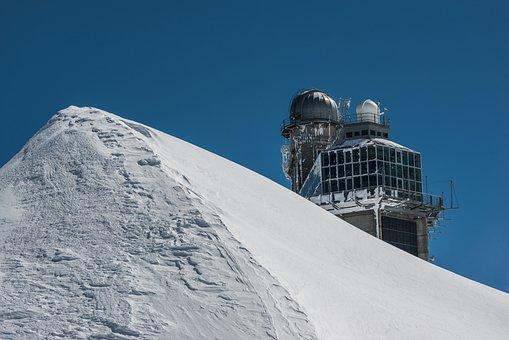 Switzerland, Jungfraujoch, Alpine, Snow