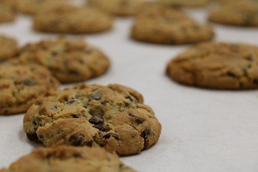Cookie, Chocolate Chip, Baking, Kitchen