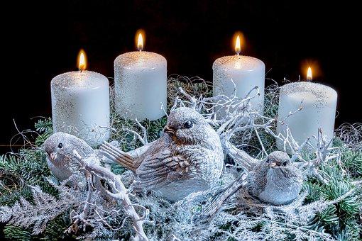 Vierter Advent, Adventskranz, Advent