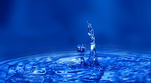 Water Drop Splash, Splash, Vesi, Neste