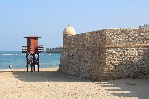 Playa De La Caleta, Playa, Vacaciones