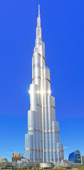 Dubai, Burj, Architecture, City, Emirates, Khalifa