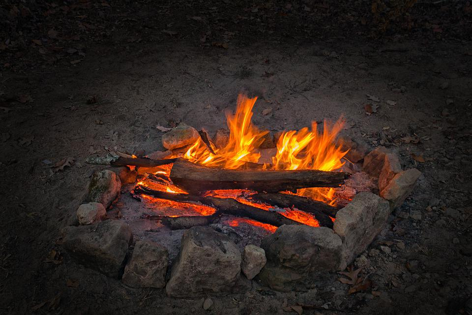 Campfire, Outdoor, Fire, Camp, Outdoors