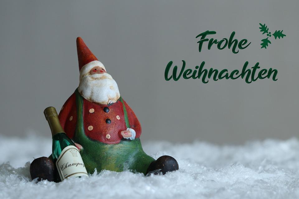 Weihnachten, Frohe Weihnachten, Santa Claus, Abbildung