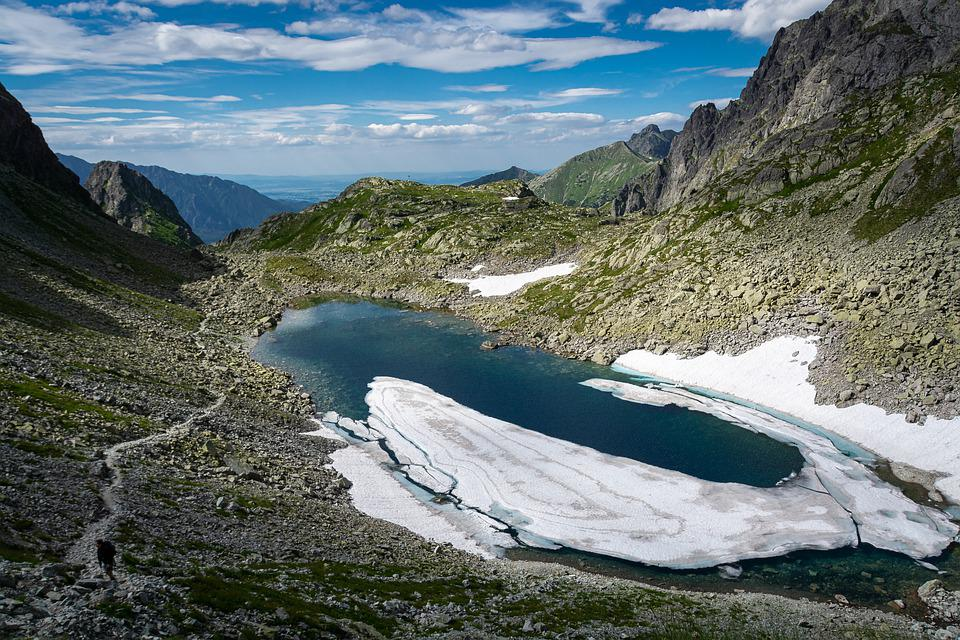 Lac - Montagne - Gelé - Hiver - Nature - Glace - SchoolMouv - Sciences - CE1