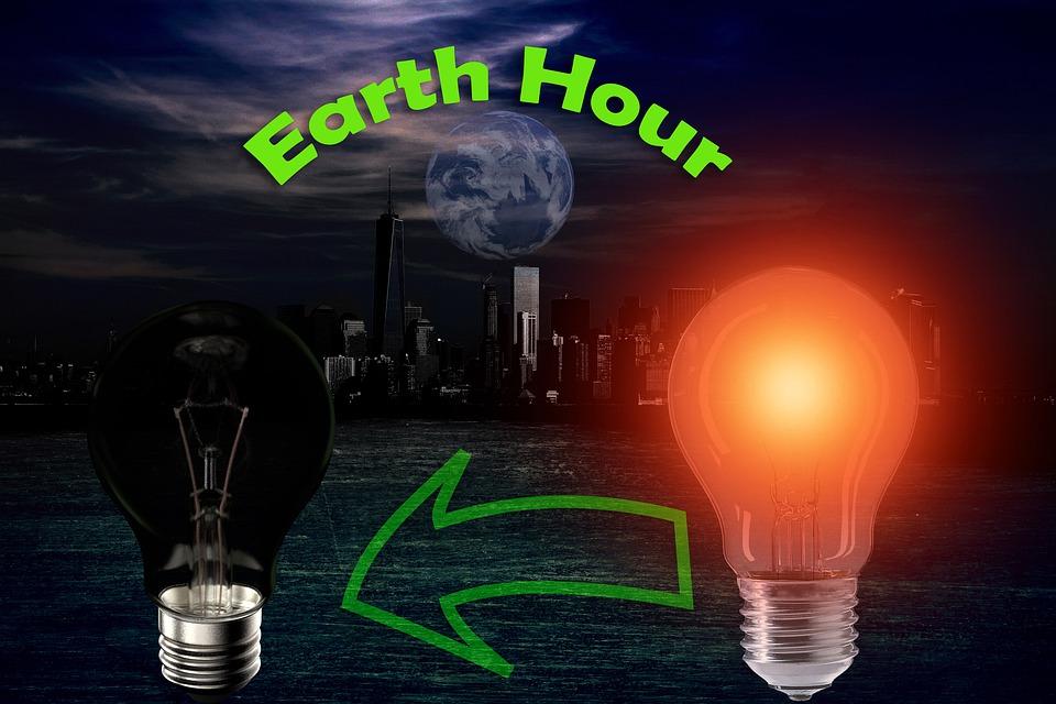 Earth Hour, Sparen, Energie Sparen, Klimaschutzaktion